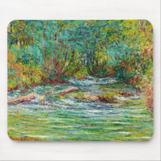 The River of Epte at Giverny, Summer Claude Monet Mouse Pad