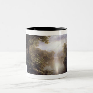 The River of Light by Frederick Edwin Church.j Two-Tone Coffee Mug