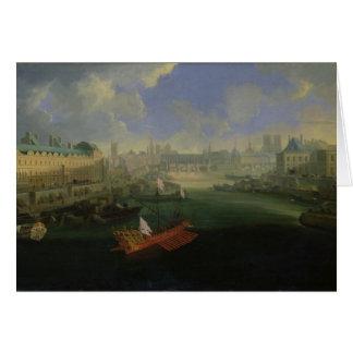 The River Seine Card
