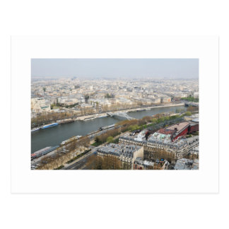 The river Seine in Paris, France Postcard