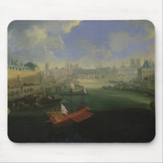 The River Seine Mouse Pad