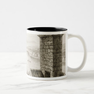 The River Shannon and Limerick Two-Tone Coffee Mug