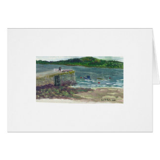 The River Shannon Greeting Card