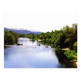 The River Spey at Boat of Garten Postcard