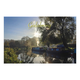 The River Wey Godalming - Beautiful! Customized Stationery