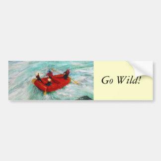 The River Wild Bumper Sticker