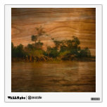 the river, wooden art room graphics