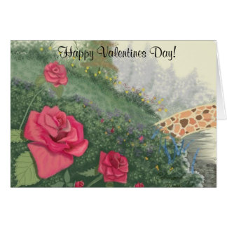 The Rivers Edge Valentines Day Greeting Card