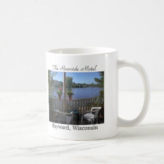 The Riverside Motel, Patio Coffee Mug