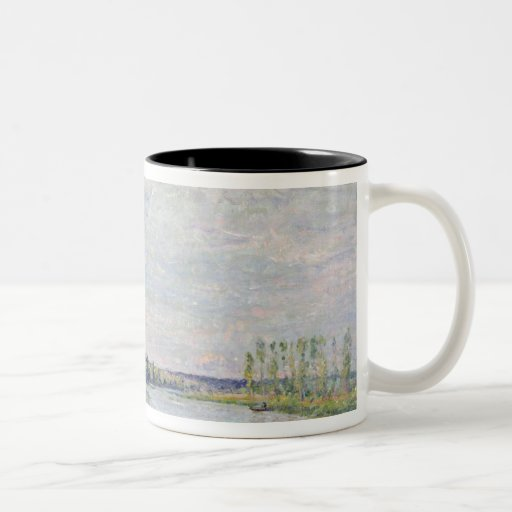 The Riverside Road from Veneux to Thomery, 1880 Mugs