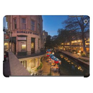 The Riverwalk At Dusk In Downtown San Antonio 2 iPad Air Cover
