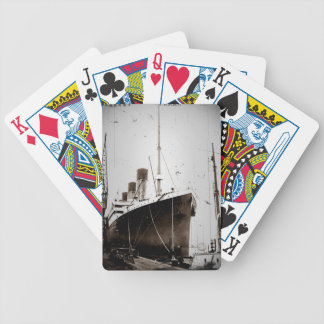 The RMS Olympic (1929) Bicycle Playing Cards