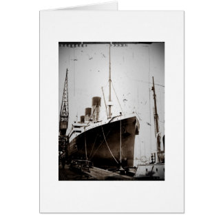 The RMS Olympic (1929) Card