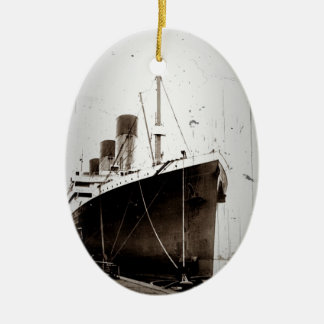 The RMS Olympic 1929 Christmas Ornament