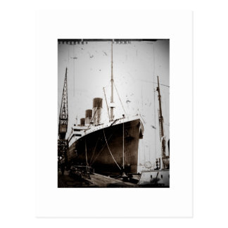 The RMS Olympic (1929) Postcard