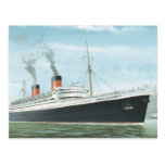 The RMS Queen Elizabeth Sailing Post Cards