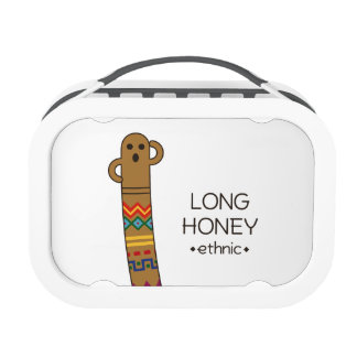 < The ro it is the gu range - (ethnic) > Long Lunch Box