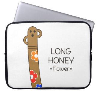 < The ro it is the gu range - (the flower) > Long Laptop Sleeve