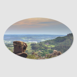 The Roaches Oval Sticker
