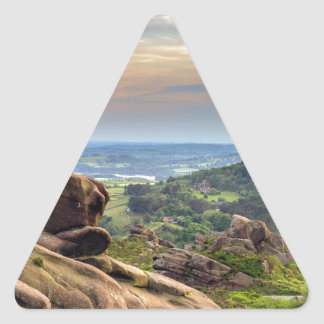 The Roaches Triangle Sticker
