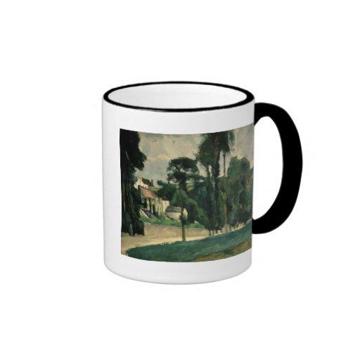 The Road at Pontoise, 1875 Coffee Mug