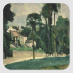 The Road at Pontoise, 1875 Sticker