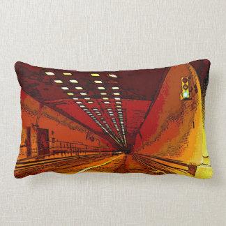 The Road Beneath Lumbar Pillow