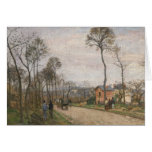 The Road from Louveciennes, 1870 Card