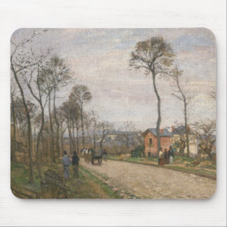The Road from Louveciennes, 1870 Mouse Pad