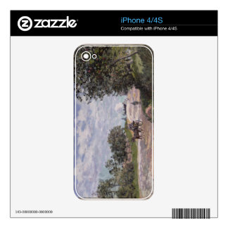 The Road from Mantes to Choisy le Roi, 1872 iPhone 4 Skins