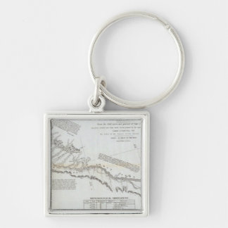 The Road From Missouri to Oregon 3 Keychain