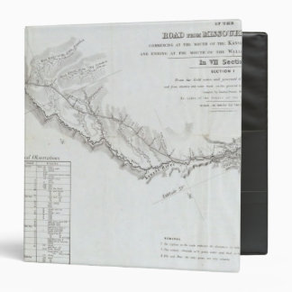 The Road From Missouri to Oregon 4 3 Ring Binder