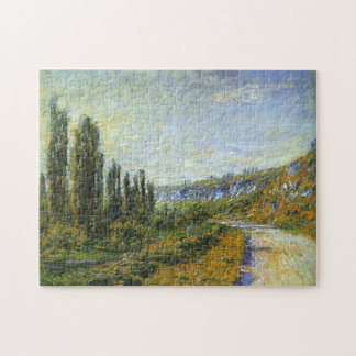 The Road from Vetheuil Monet Fine Art Puzzle