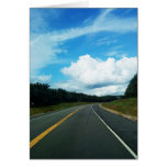 The road greeting cards