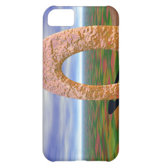 The Road Less Traveled, Abstract Arch, Farmlands iPhone 5C Cover