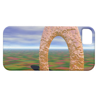 The Road Less Traveled, Abstract Arch, Farmlands iPhone SE/5/5s Case
