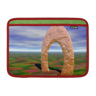 The Road Less Traveled, Abstract Arch, Farmlands MacBook Air Sleeve