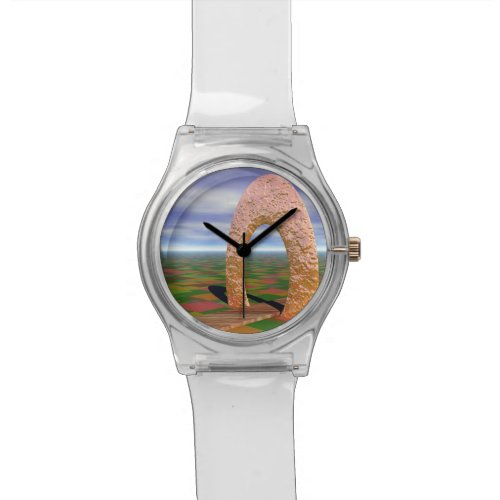 The Road Less Traveled, Abstract Cosmic Trip Wristwatch