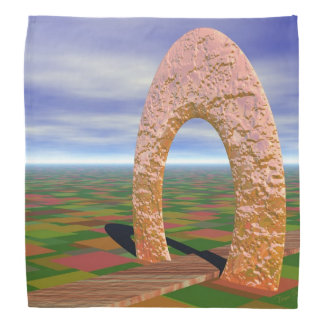 The Road Less Traveled, Abstract Cosmic Trip Kerchief