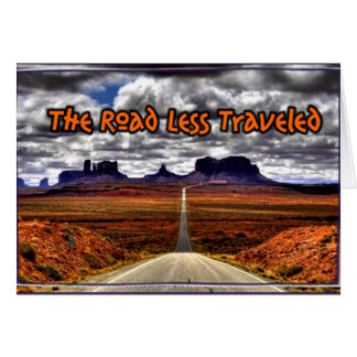 The Road Less Traveled Card