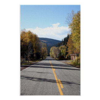 The road less traveled print