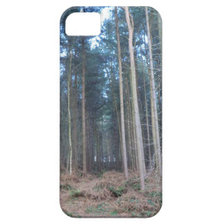 The Road Less Travelled Through Delamere Forest iPhone 5 Cover