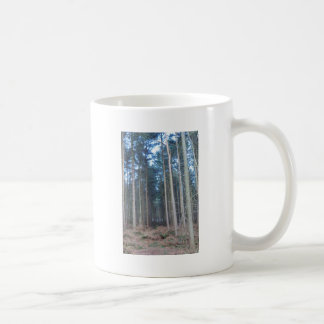 The Road Less Travelled Through Delamere Forest Coffee Mug