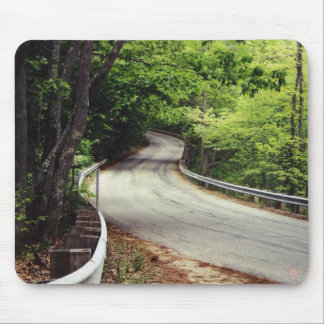 the road mouse pad