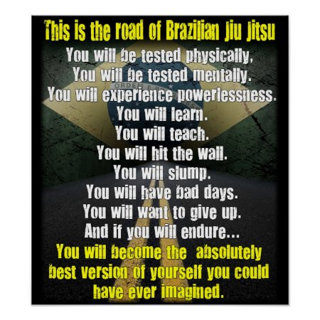 the Road Of Brazilian Jiu Jitsu