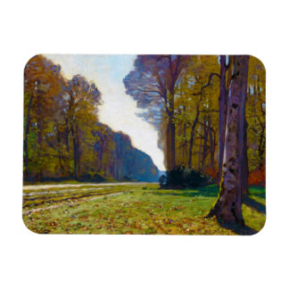 The Road of Chailly Claude Monet cool, old, master Magnets