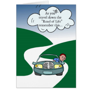 The Road of Life Card