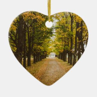 The Road of Life Ceramic Ornament
