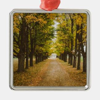 The Road of Life Metal Ornament
