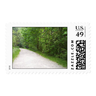 The Road Postage Stamps
